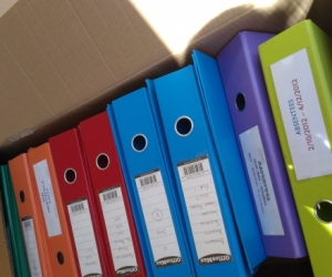 A4 BINDERS IN VARIOUS COLOURS