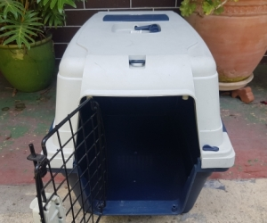 Large cat carry cage