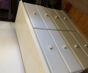Solid cedar drawers