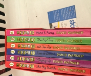 Kaboom kid 1 to 8  written by David Warner