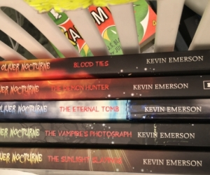 Oliver Nocturne books by Kevin Emerson