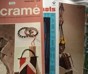 Macrame- 4 pattern books