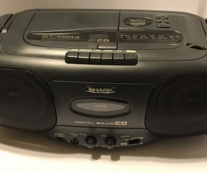 Portable CD / Cassette Player Boombox
