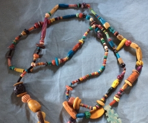 Necklace - colourful beads
