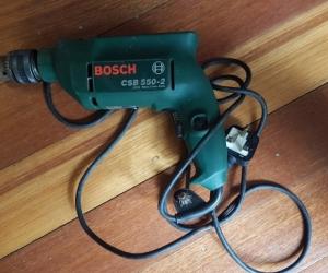 Bosch hammer action corded drill