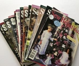 Sew Beautiful Magazines