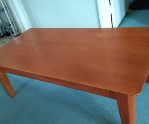 Free coffee table & display cabinet for collection