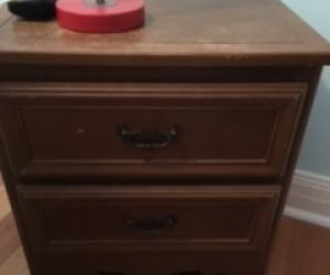 Bedside table -wooden