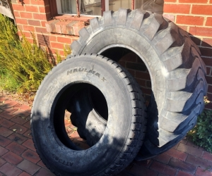 Truck tyres - gym equipment