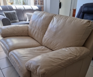 Two Seat Leather Couch