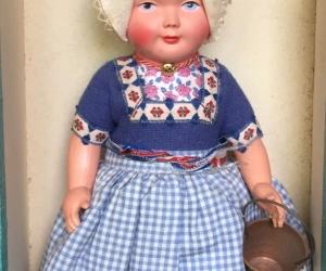 Vintage Dovina Dutch Doll