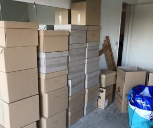 Free moving boxes and bags