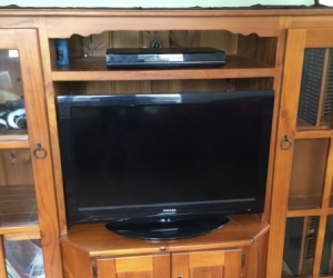 Large Wooden entertainment unit