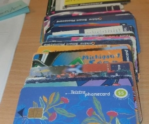 USED TELSTRA PHONE CARDS