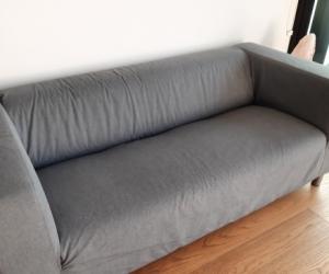 Sofa (KLIPPAN 2-seat sofa, Vissle grey - IKEA)