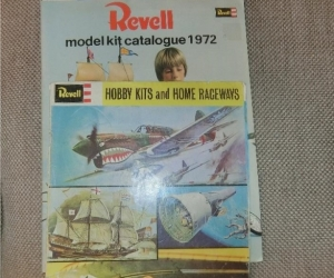 REVELL MODEL CATALOGUES (1970s)
