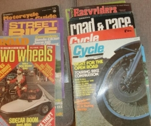1970s MOTOR CYCLE MAGS