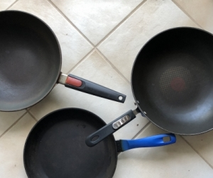 Camping frypans