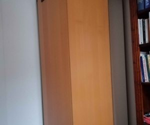 Wardrobe with full length mirror
