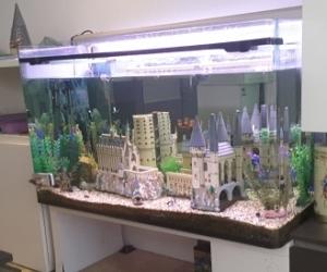 Large fish tank. 378 litres, pump etc.