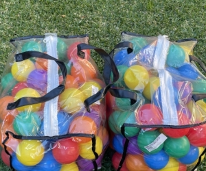 Plastic balls for ballpit