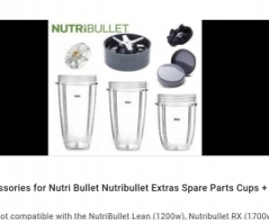Nutribullet accessories