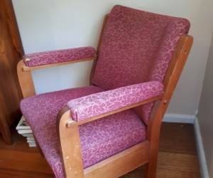 Old chairs x 2