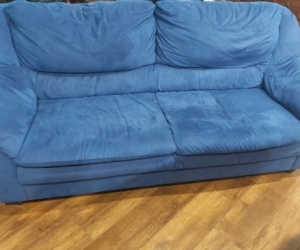 Free Micro suede  sofa