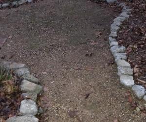 Concrete crazy pavers