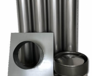 6 inch flue for wood heater/ fire accessories.