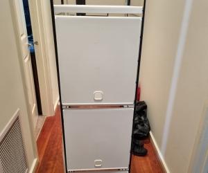 IKEA shelf 143 H 35 W 35 D