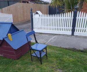 Free pot plants & dog kennel