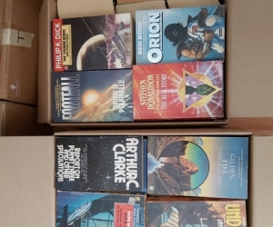 Sci-fi Books - mystery boxes - PICKUP PENDING