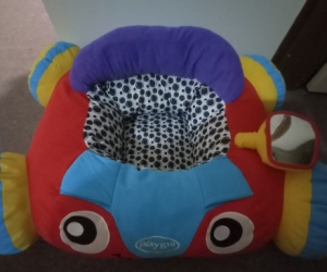 Plush car toy - used as cat bed