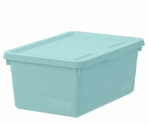 Storage container with lid - opaque and medium size