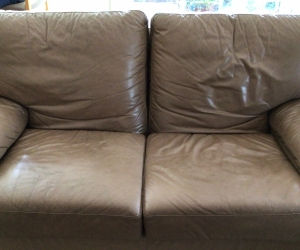 Moran Leather 2 & 3 seater couches