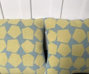 Pair of cushions from West Elm
