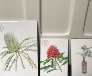 Three botanical prints - brand new and unframed