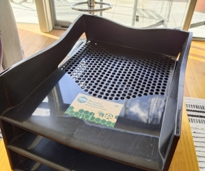 Document trays - stackable
