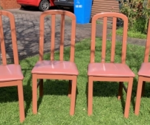 6 chairs - dining or kitchen