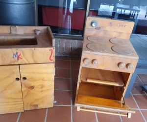 Cubby House kitchen furniture