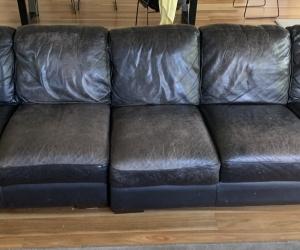 Leather sofa (modular)