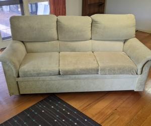 Sofa bed velvet fabric