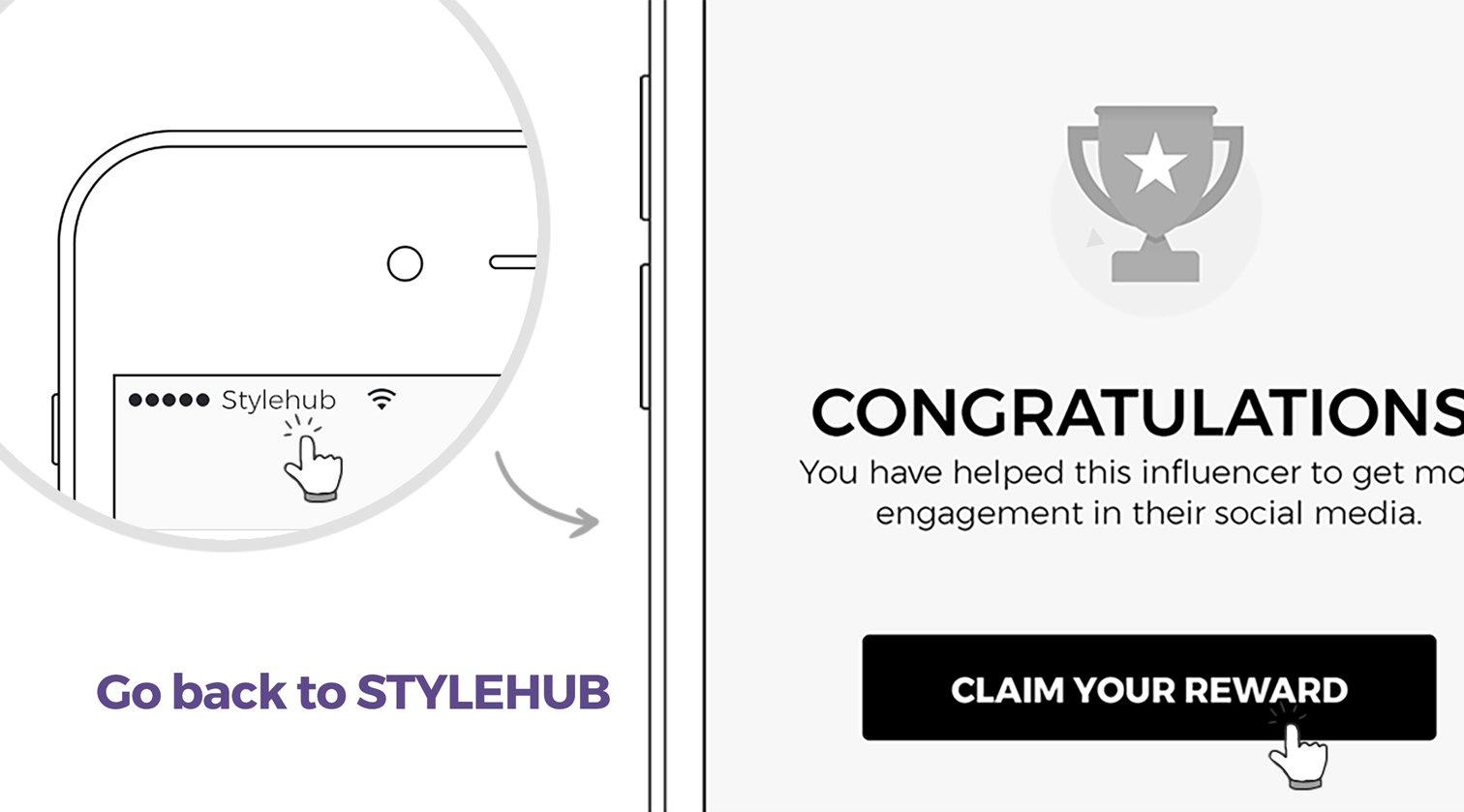 STYLEHUB get rewarded