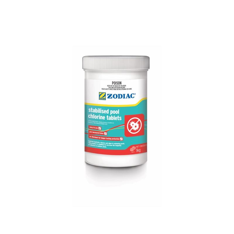 Stabilised Pool Chlorine Tablets
