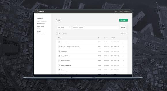 New Manage Data Image